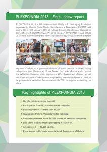 Post Show Report 2016 – PlexpoIndia – Plastic Exhibition In